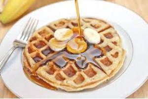 Belgian Waffle Premix Banana Cream 4000g
