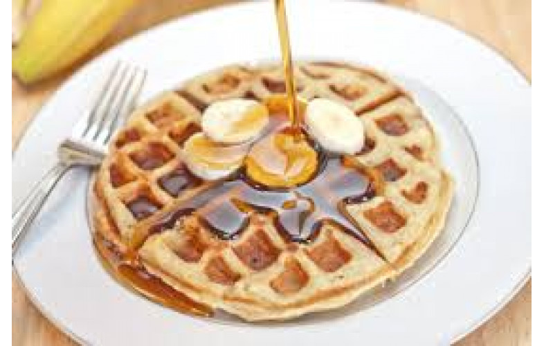 Belgian Waffle Premix Banana Cream 800g