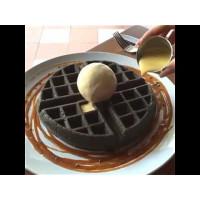 Belgian Waffle Mix Chocolate Charcoal 4000g