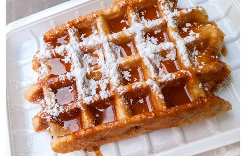 Belgian Waffle Premix Salted Caramel 800g