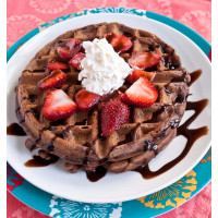 Belgian Waffle Mix Chocolate Strawberry 800g