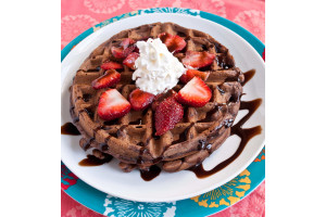 Belgian Waffle Mix Chocolate Strawberry 400g