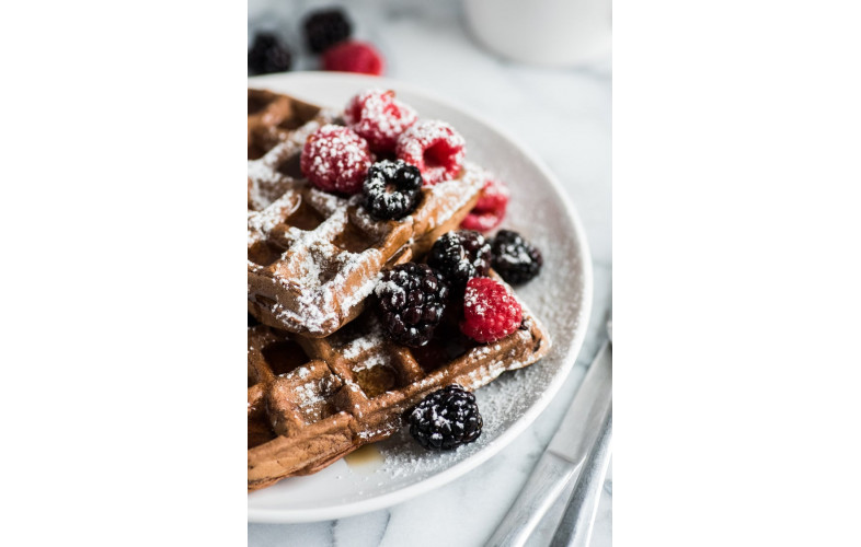 Belgian Waffle Mix Chocolate Coconut 800g