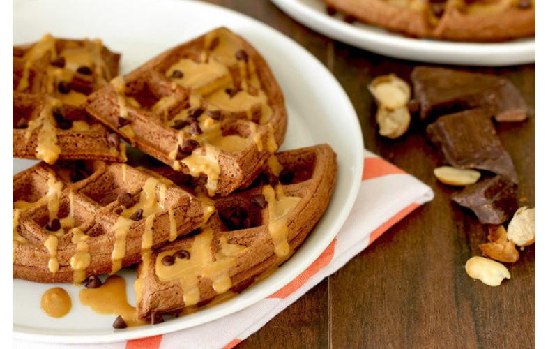 Belgian Waffle Premix Peanut Butter 400g