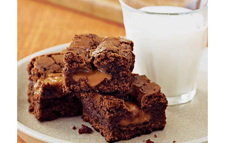 Brownie Premix Caramel Crunch - 400g