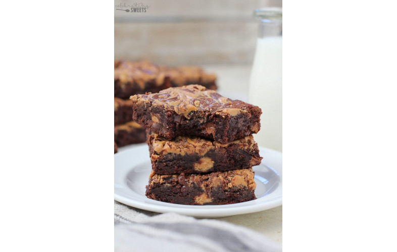 Brownie Premix Peanut Butter - 800g