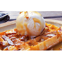 Protein Waffle Premix Butterscotch - 400G