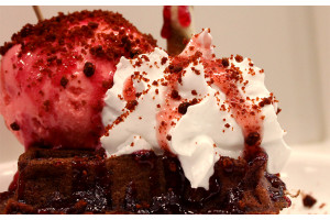 Belgian Waffle Premix Salted Red Velvet