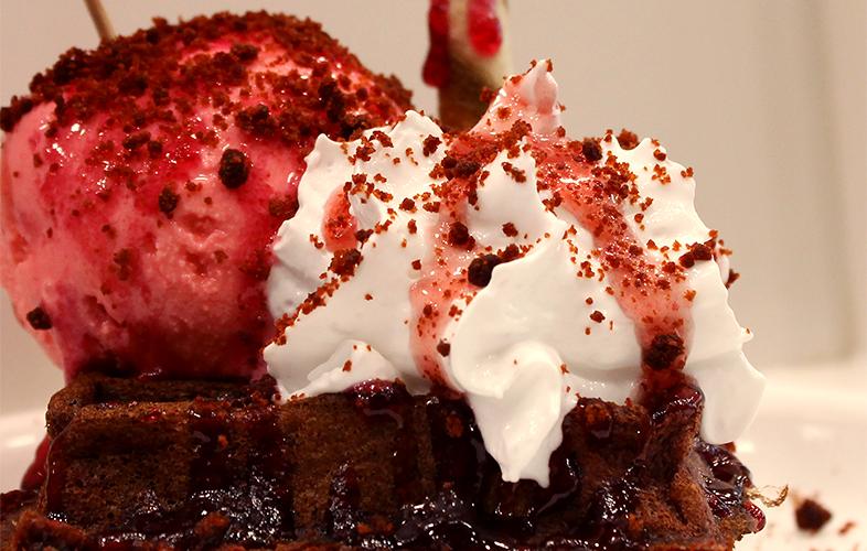 Belgian Waffle Premix Salted Red Velvet 4000g