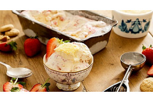 Gelato Premix Orange Strawberry - 4000G
