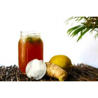 Sugar Free Ice Tea Premix Lemon Ginger Honey - 400G