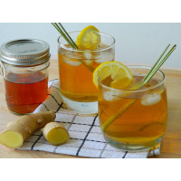 Sugar Free Ice Tea Premix Lemon Ginger - 400G