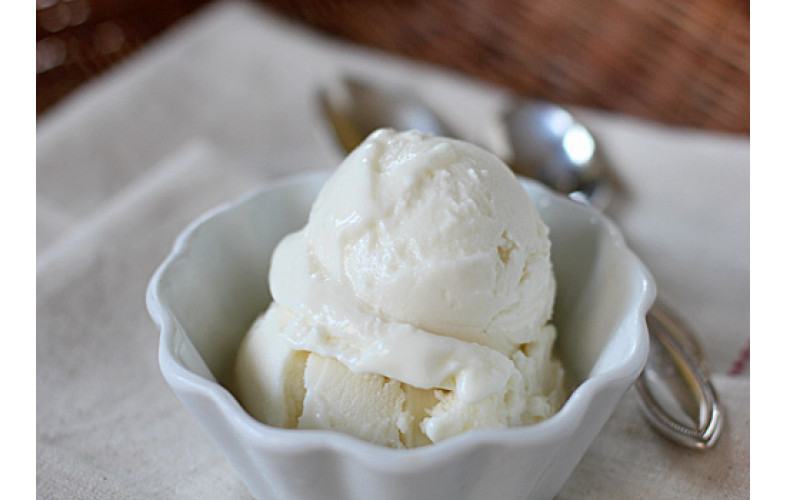 Frozen Yoghurt Premix Plain - 400G