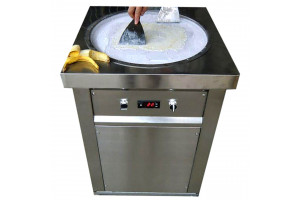 Ice Cream Roll Machine  - Round Pan 50 cm