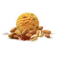 Ice Cream Premix Kesar Badam - 800G